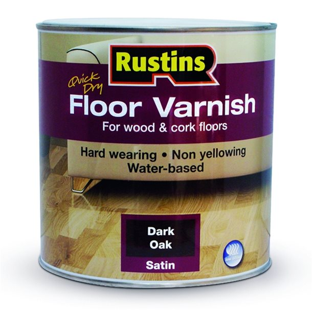 Quick Dry Floor Varnish Rustins