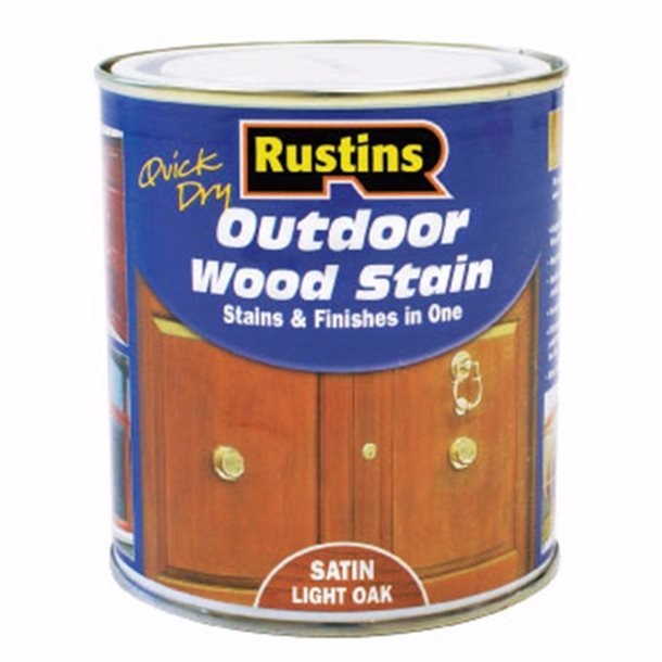 Quick Dry Outdoor Wood Stain Rustins